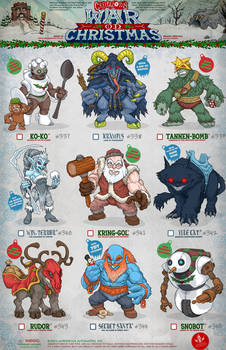Creepazoids: War On Christmas