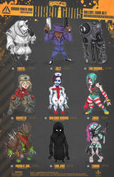 Creepazoids: Hired Guns