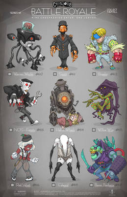 Creepazoids: Battle Royale