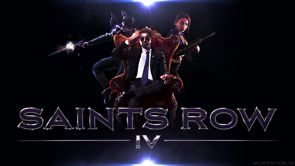 Saints Row 4 Wallpapers: The Threesome... By PhoneGraphics