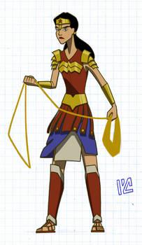 Personal Wonder Woman redesign