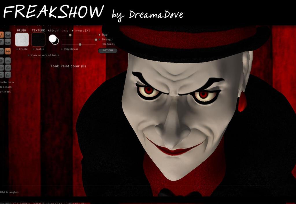 Freakshowwwww 011 by DreamaDove93