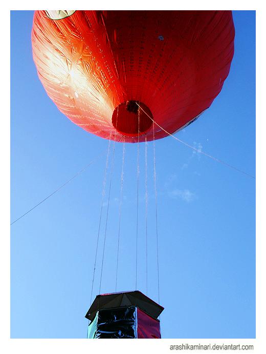 Hot Air Balloon by ArashiKaminari