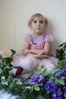 Girl with flower 10 by LacyFaye
