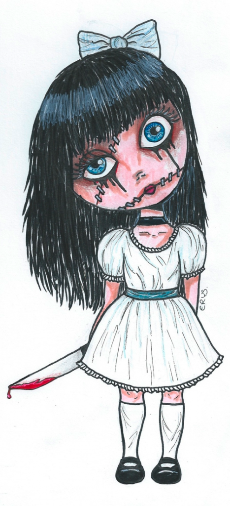 Cute Creepy Doll by ErysDream on DeviantArt