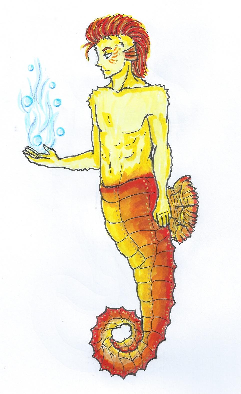 Sea Creature : Seahorse Man