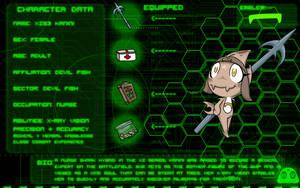 Character Template: Kanini by tribenursekanini