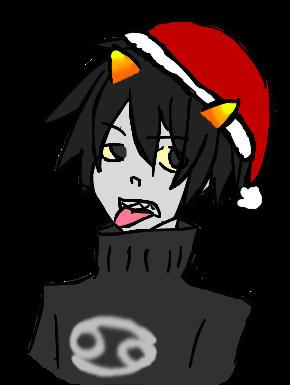 Christmas Karkat by Siren701