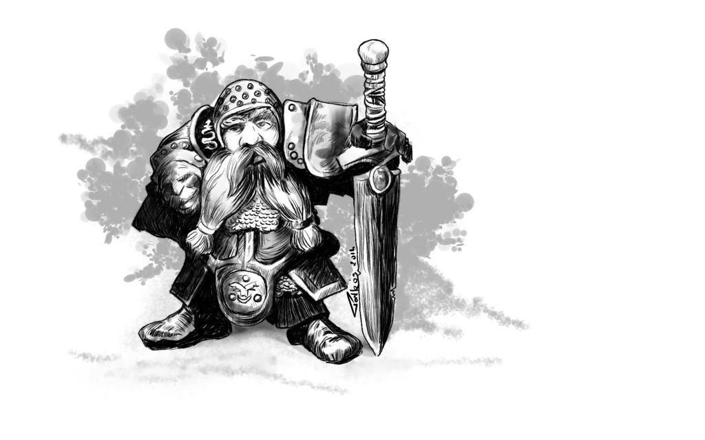 Dwarf by pasztel
