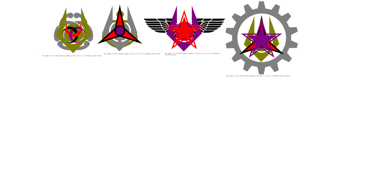 Symbols Of The Grand Imperial Military By Drivanmoffitt On Deviantart