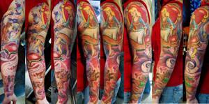 cinderella-cendrillon tattoo
