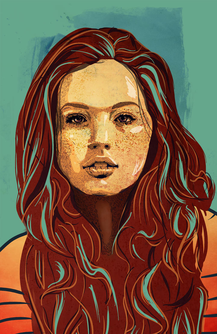 Daria Sidorchuk by chyhy