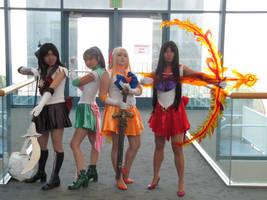 Fanime 2010 - Sailor Scouts
