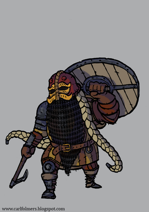 Ser Darjer, Order of the Oracle. by CarlfolmerART