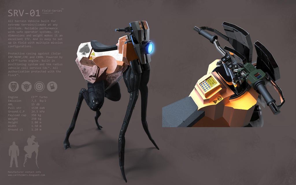 SRV-01 by CarlfolmerART
