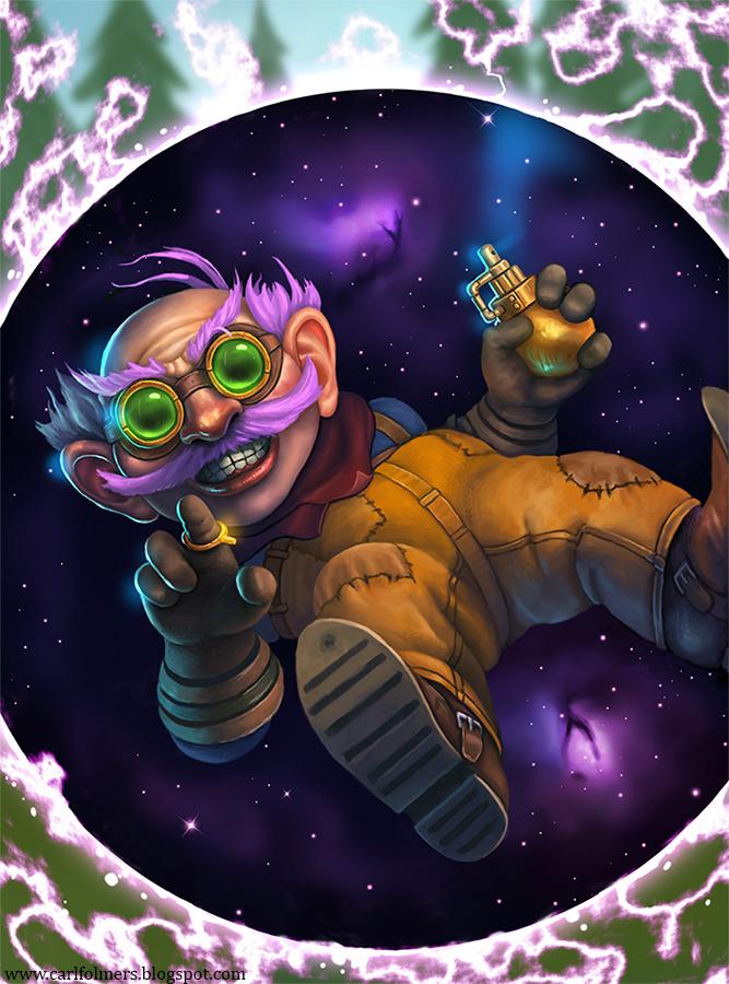 Cosmic Grenade by CarlfolmerART