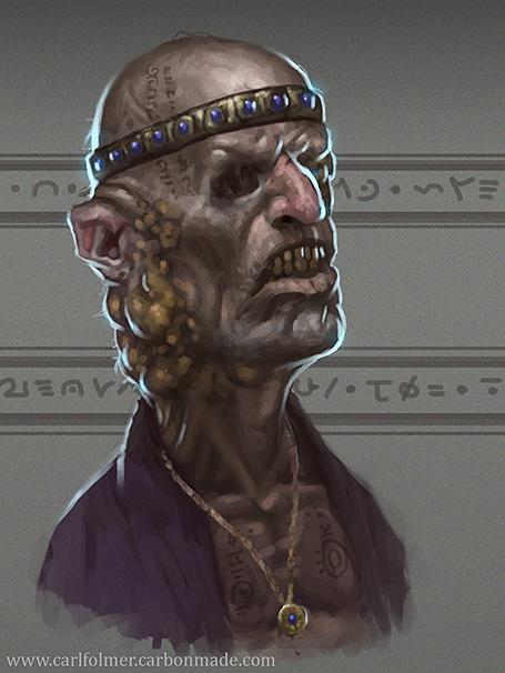 Occult sermonizer by CarlfolmerART