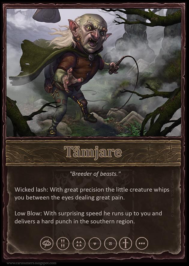 Tamjare card by CarlfolmerART