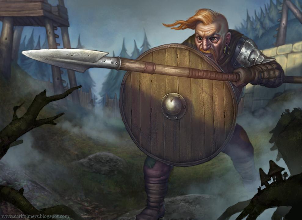 Guardsman by CarlfolmerART