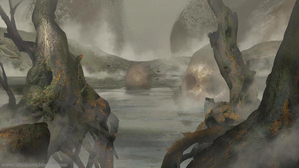Swamp by CarlfolmerART