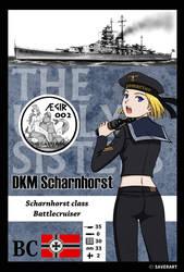 AEGIR 002- DKM Scharnhorst by wave-lens