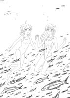 Patreon: Yuu and Touko by wave-lens