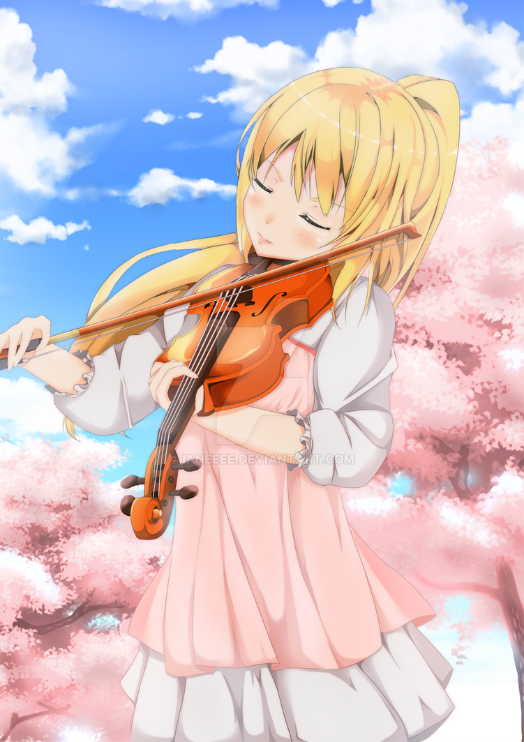 Image Result For Anime Wallpaper Your Lie In Aprila