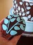 Something blue cupcake