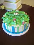 Peapod cake