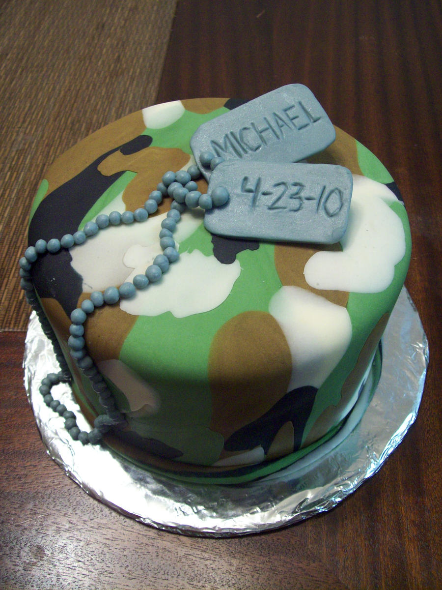 Army graduation cake by seethroughsilence on DeviantArt