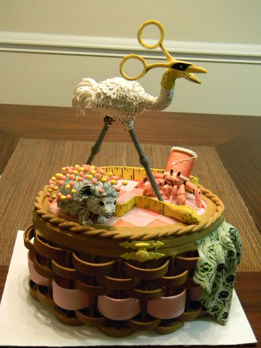 Alice's sewing basket