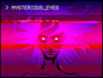 Mysterious eyes by NeBoomBoom