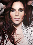 Cheryl Cole Painting