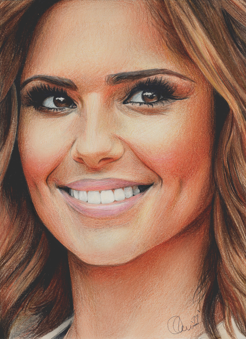 Cheryl Cole in Colour by Charlzton