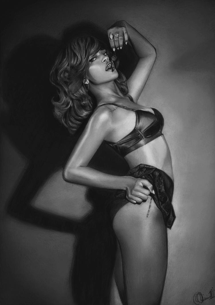 Rihanna by Charlzton