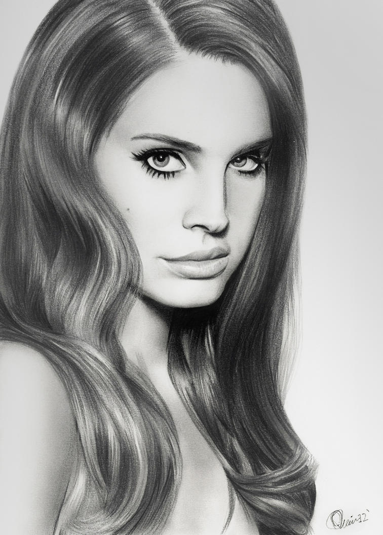 Lana Del Rey By Charlzton