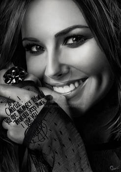 Cheryl Cole Glamour - Signed