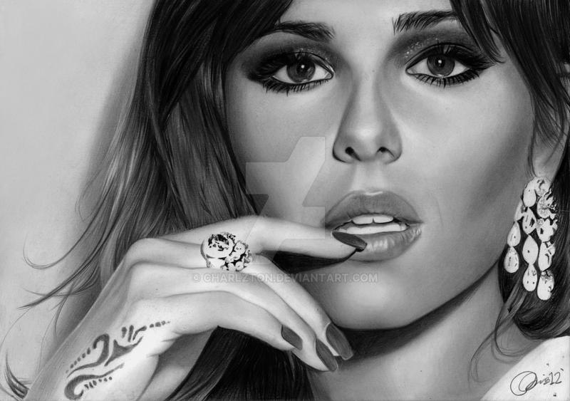 Cheryl in Cannes by Charlzton