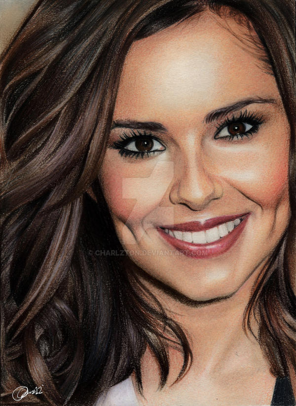 Cheryl Cole In Colour 2 By Charlzton On Deviantart