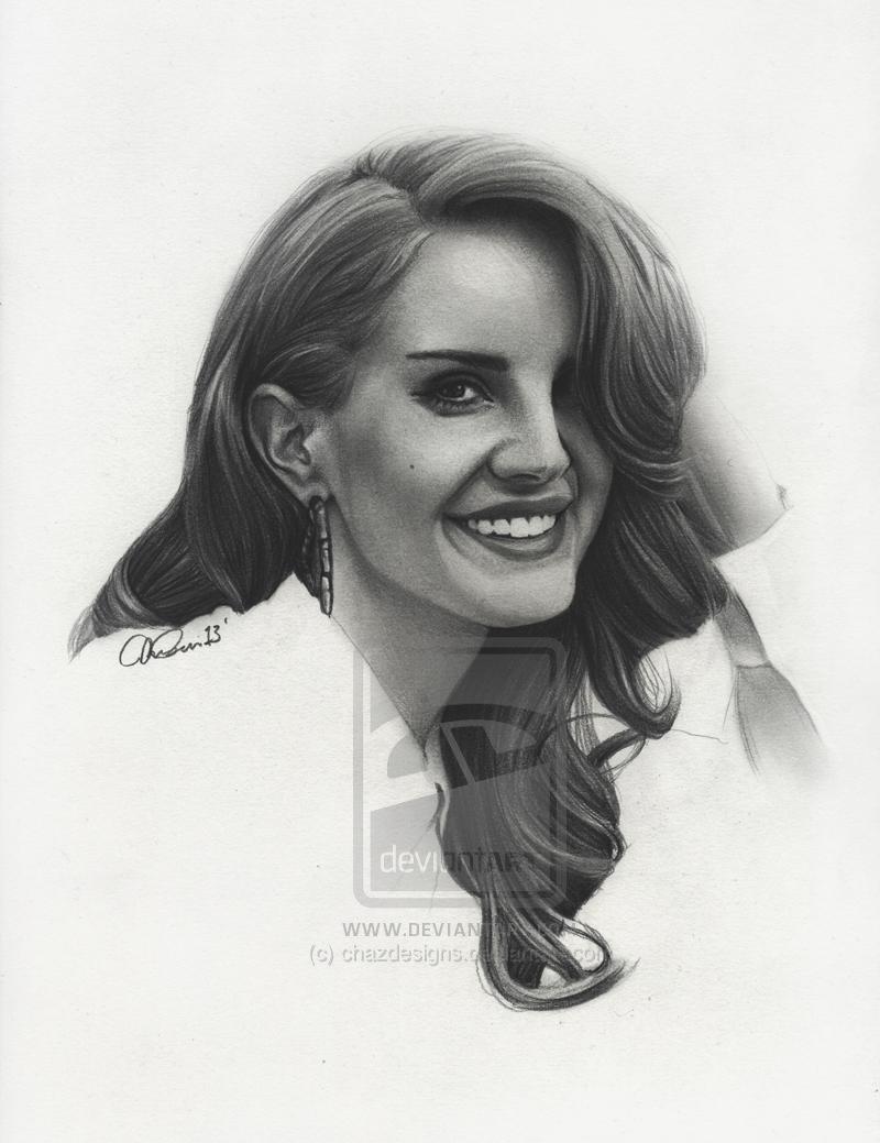Lana Del Rey - 4 by Charlzton