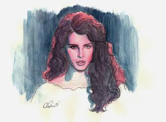 Ride - Watercolor Illustration