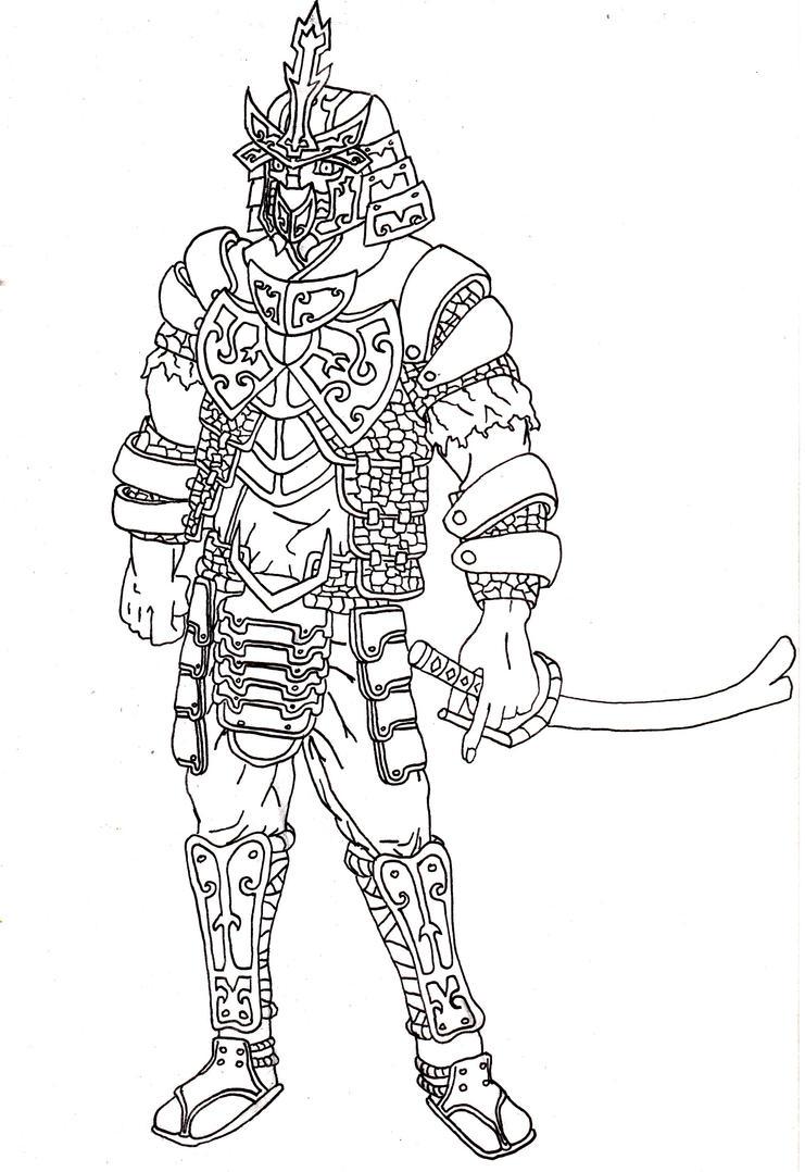 Line Art Characters : Retype depths character line art by wordinsane on deviantart