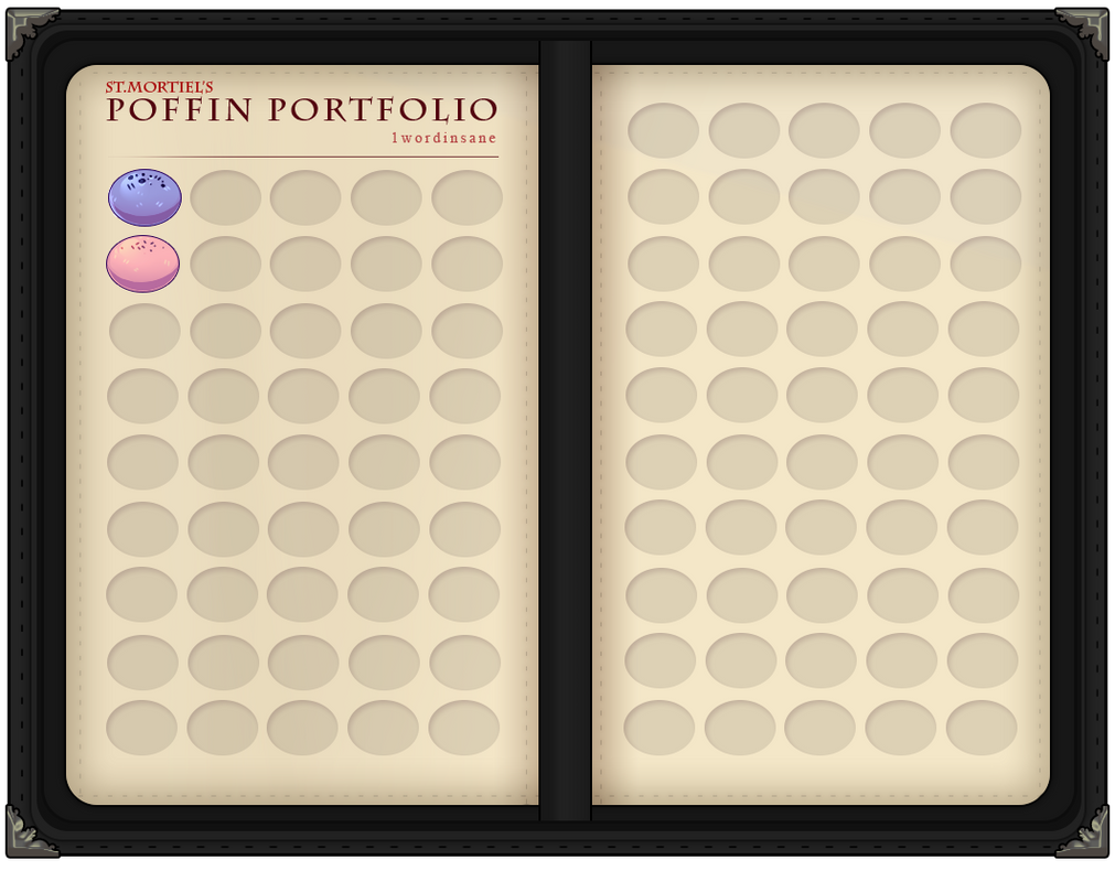 STM - Poffin portfolio by 1wordinsane