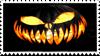 Evil Jack O Lantern Stamp. by EdenLeeRay