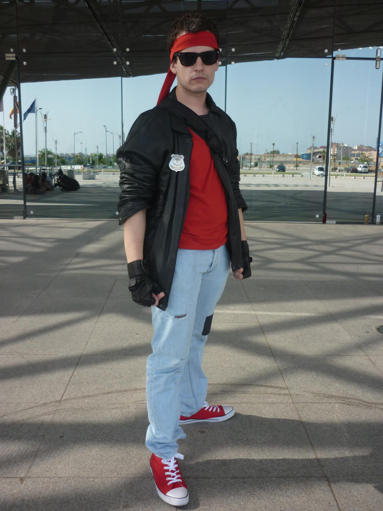 Kung Fury Cosplay by d4rkslayer