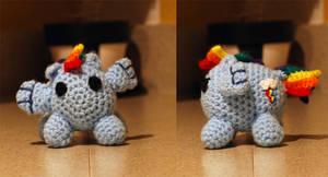 Rainbow Dash Bean style pony by MrCentauri