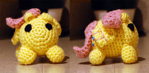 Fluttershy bean style pony by MrCentauri