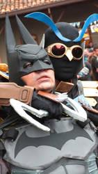 Batman VS Talon by CosplayDaigumi