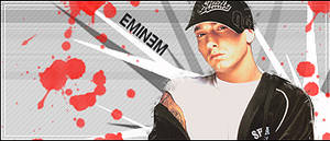 Eminem Sign by Memmus