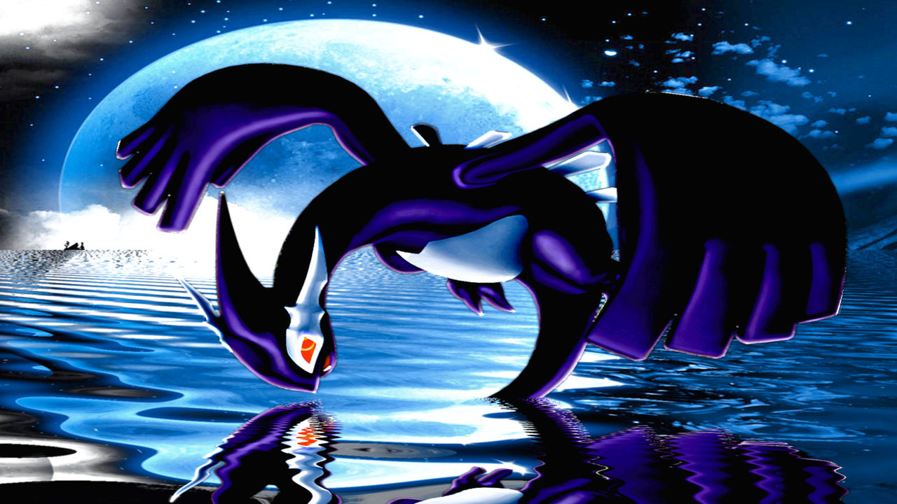 Shadow Lugia Wallpaper by